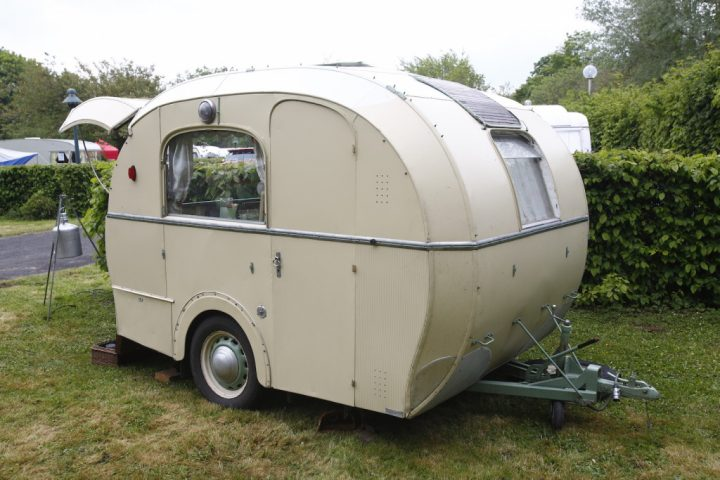 petite caravane habitable